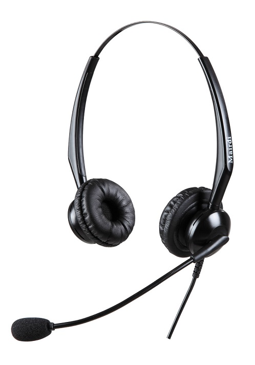 Auricular binaural profesional para Call Center