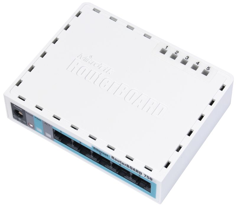 Router Ethernet MikroTik RB750