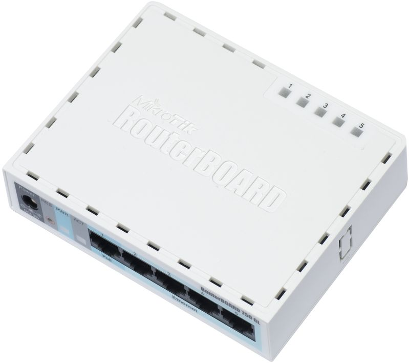 Router Ethernet MikroTik RB750GL