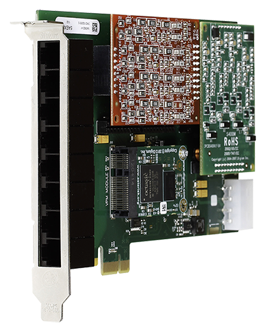 Digium 8-Port Analog Card with eco cancellation