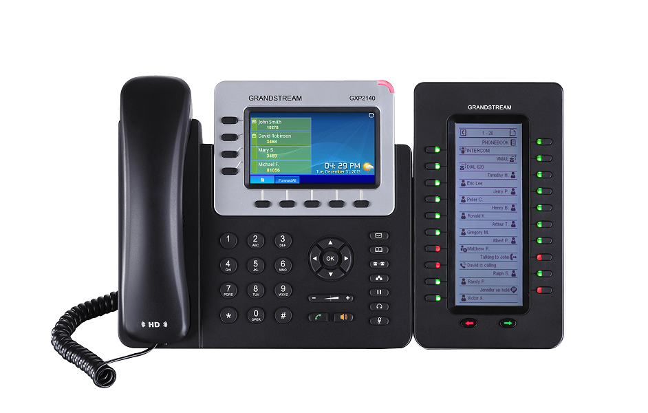 IP Phone Grandstream GXP2140 - Gigabit - PoE