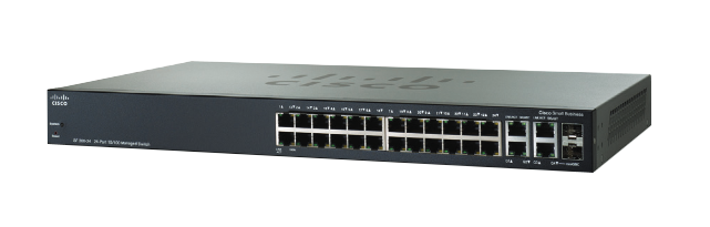 Switch Cisco S.B. de 24 puertos 10/100 con PoE